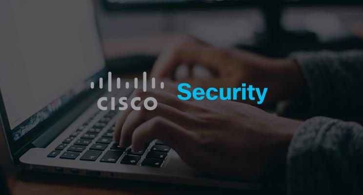 An image of the CISCO Security logo